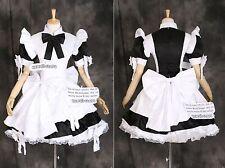 A-024 Gothic Lolita Maid Classic uniforme cosplay disfraz vestido costume dress grado