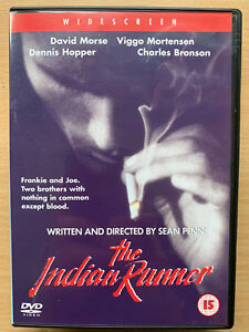 The Indian Runner DVD 1991 Cult Crime Classic Movie Drama Rare