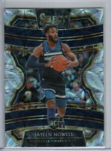 JAYLEN NOWELL 2019-20 Panini Select Concourse SCOPE PRIZM ROOKIE Minnesota RC