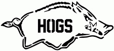 Hogs stencil pack New