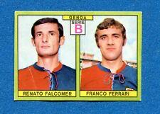 CALCIATORI PANINI 1968-69 - Figurina-Sticker - FALCOMER-FERRARI - GENOA -Rec
