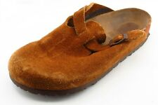 Birkenstock Size 7 Wide (C, D, W) Brown Mules Shoes Leather Women
