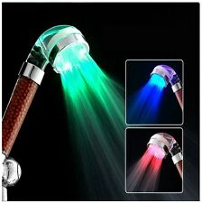 Shower Head Filter LED Light Clean Pure Water Purifier Detox Body Handheld Hose