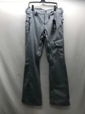 Volcom Womens Plateau Snowboard Pant Grey Size Small NEW