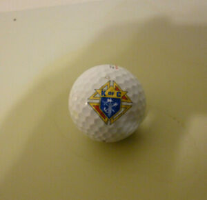 K of C  PINNACLE 1  LOGO GOLF BALL