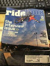 Ride Bmx magazine Back issues 2005