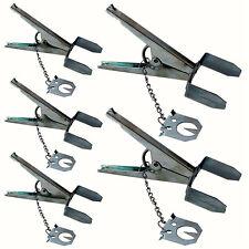 5 x terra in metallo resistente a Forbice Mole Artiglio trappole veloce MOLE Control Repeller