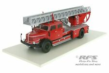 Departamento de bomberos con escalera giratoria-Krupp l100 escalera carro dl52-Berlín - 1:43 Altaya