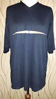 Herren T-Shirt Gr. 52 54 Nike Männer Kurzarm Shirt Running blau Sommer Sport neu