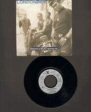 """LONDON BEAT There's a Beat Going On 7"""" SINGLE Bribe The Bride 1988 LONDONBEAT"""