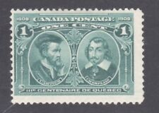 CANADA STAMP #97 --- 1c TERCENTENARY - 1908 - UNUSED
