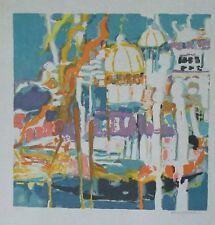 Denise Bourdouxhe lithographie Venise expressionnisme p 624
