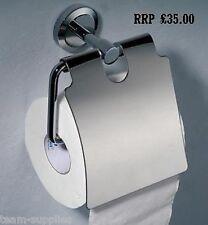 Rond En Métal Chromé Toilettes Rouleau Papier Support Avec Housse Phoenic WHIRLPOOL Prac
