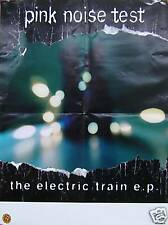PINK NOISE TEST POSTER, THE ELECTRIC TRAIN (P8)
