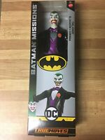 "The Joker Batman Missions 12"" THE JOKER ACTION FIGURE (TRUE MOVES) 2018 ~ Mattel"