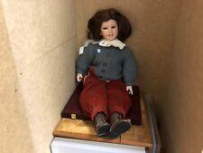 Il Kase Lepp bambola di porcellana 58 cm. pezzo unico. Top Condizione