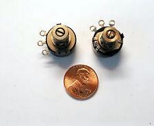 381-L  Clarostat 250 K ohm 1 watt Potentiometer, Single Turn Locking  S-Taper