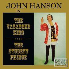 CD JOHN HANSON VAGABOND KING STUDENT PRINCE LOVE FOR SALE ONLY A ROSE SERENADE