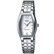 Casio Uhr LTP-1281PD-7AEF Damen Armbanduhr Edelstahl Silber Watch Women NEU & OV
