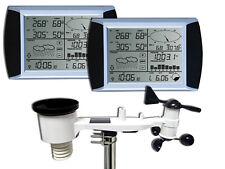 WH1080 SE TwoTouch (2 Displays) Profi Funk Wetterstation Solar (Neuer Außenmast)