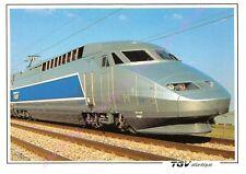 CP TRAIN TGV ATLANTIQUE PHOTO S.N.C.F. C.A.V. JEAN MARC FABBRO