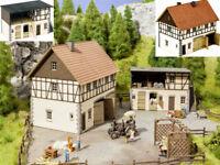 NOCH 66713 Hofgut Franz Fuhrmann und Co Bauernhof Laser Cut Bausatz H0 Neu