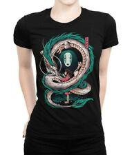 Spirited Away Haku T-Shirt, Hayao Miyazaki Studio Ghibli Tee, Women's All Sizes