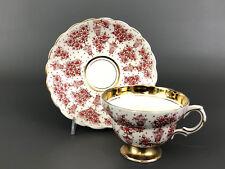vintage ROSINA, bone china cup & saucer #5123/NAR  England c.1948+