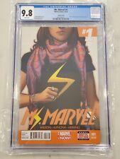 Ms. Marvel #1 6th Sixth Printing CGC 9.8 Kamala Khan becomes Ms. Marvel