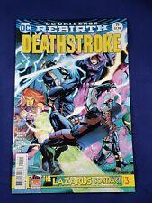 DC COMICS DEATHSTROKE - DCU REBIRTH # 19
