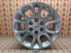 "15 16 17 18 19 GMC YUKON ALLOY 12-SPOKE WHEEL RIM 18X8.5 18"" 20937965 OEM"