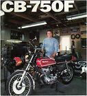 HONDA Brochure CB750 F CB750F 1976 1975 Sales Catalog Catalogue REPRO