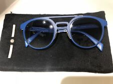 PREOWNED ITALIA INDEPENDENT SUNGLASSES I-METAL 0020 022 BLUE/BLUE AUTHENTIC