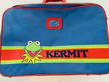 Vintage 1980's Kermit Suitcase - Extremely Rare - The Muppets