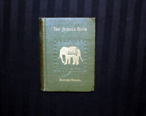 Antique book.. TRUE FIRST edition / First state - THE JUNGLE BOOK.. 1894 Century