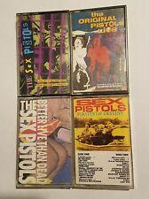 S €x Pistols vintage cassette lot