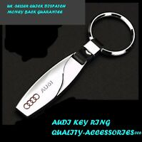 AUDI Car Logo Teardrop Metal Keyring key chain 3D BUY 3 GET 1 FREE top quality