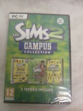 SIMS 2 CAMPUS COLLECTION FOR PC - FRENCH VERSION!!! LES SIMS 2