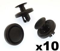 10x Subaru Push Fit Plastic Rivets- Trim Clips for Boot & Trunk Lining & Carpets