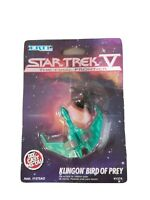 ERTL Star Trek V: The Final Frontier Klingon Bird of Prey Die Cast Metal Ship
