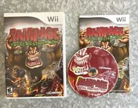 RAMPAGE Total Destruction Nintendo Wii MINT DISC! Complete w/ Manual TESTED VG+