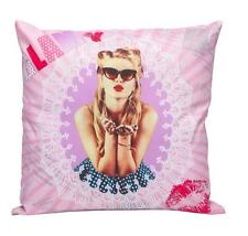 Superbe coussin déco tendance pin up glossy salon chambre cadeau !NEUF!