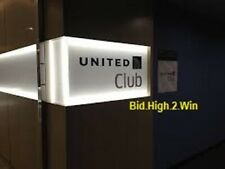 UNITED Airlines CLUB LOUNGE Pass  ONE-TIME PASS Expires March 31, 2021 E-mailed
