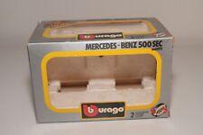V 1:24 ORIGINAL EMPTY BOX BBURAGO BURAGO 0111 MERCEDES-BENZ 500 SEC GOOD