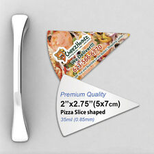 1000 Custom 35mil Thick  Pizza Slice Fridge Magnets with Your Design/Logo