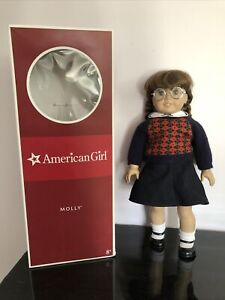"Molly American Girl Doll 18"" in original clothing with Original Box"