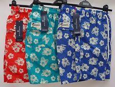 Polyamide Floral Swim Shorts for Men