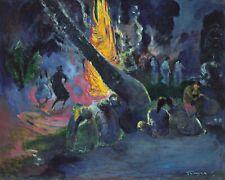"""Upa Upa"" (The Fire Dance) by Paul Gauguin. Life Art .  11x14 Print"
