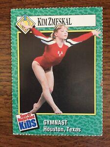 1990 Kim Zmeskal # 201 Sports Illustrated for Kids  Gymnastics ROOKIE CARD RARE