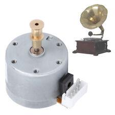 Metal Motor Gramophone Phonograph Vinyl Record Players Replacement Motor 6-12V